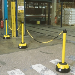 Bild TRAFFIC-LINE Hi-Vis Chain Posts  (1)