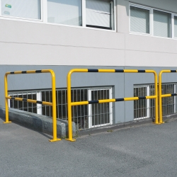TRAFFIC-LINE Steel Hoop Guards (6)