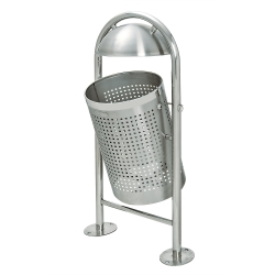 Bild TRAFFIC-LINE Stainless Steel Litter Bin - Style DS35  (1)