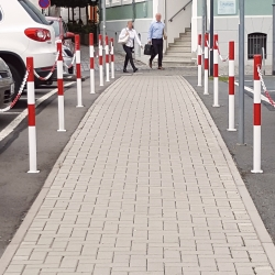 permanent posts: TRAFFIC-LINE Barrier Posts 60mm