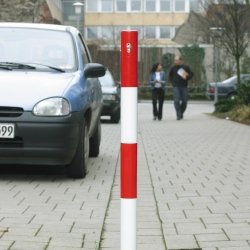drop down and barrier posts: Removable Barrier Posts