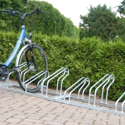 bicycle parking: TRAFFIC-LINE Lo-Hoop Cycle Rack