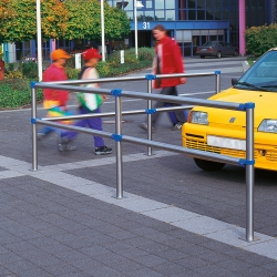 railing systems: TRAFFIC-LINE Stainless Steel Railing Sysytem - URBAN