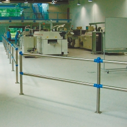 railing systems: TRAFFIC-LINE Stainless Steel Railing System - CLASSIC