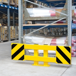 protection guards: BLACK BULL Racking End Frame Protectors A