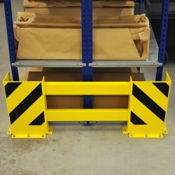 protection guards: BLACK BULL Racking End Frame Protectors B