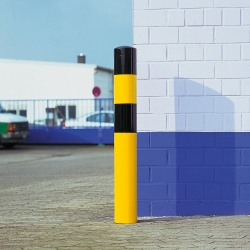 heavy duty bollards: BLACK BULL Heavy Duty Bollards