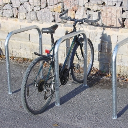 bicycle parking: TRAFFIC-LINE Sheffield Style Cycle Stands