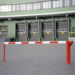 access barriers: COMPACT  Boom Barrier with Gas damper