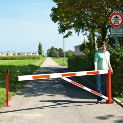access barriers: COMPACT Swing Barrier