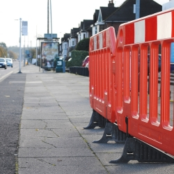 ramps, cones and site safety: TRAFFIC-LINE Blow Moulded Barriers