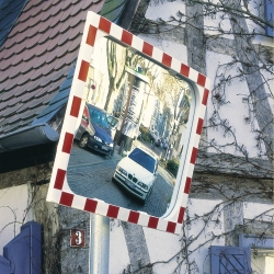 traffic mirrors: VIEW-ULTRA Sekurit Glass Traffic Mirror