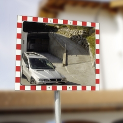 traffic mirrors: DURABEL IceFree Stainless Steel Mirror
