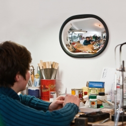 observation mirrors: DETECTIVE Wall Mount Mirror