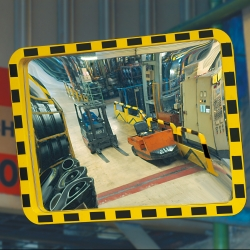 industrial mirrors: VIEW-MINDER Industrial Duty Mirror