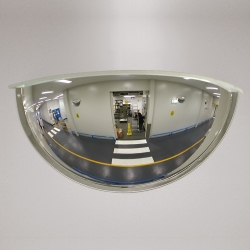 panoramic mirrors: PANORAMIC 180WA Acrylic Mirror with Frame