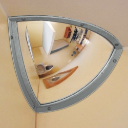 observation mirrors: INSTITUTIONAL Stainless Steel Mirror