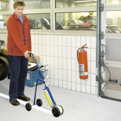 line marking and floor paint: PROline-paint Line Marking System
