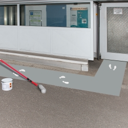line marking and floor paint: PROline-paint Outdoor Industrial Floor Coating