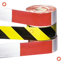 ramps, cones and site safety: TRAFFIC-LINE Barrier Tapes