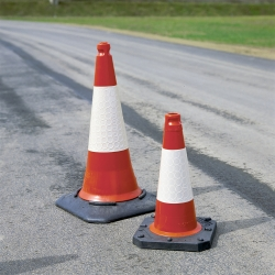 ramps, cones and site safety: Traffic Cones