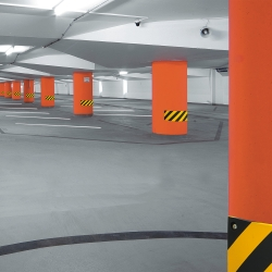 impact protection and buffers: TRAFFIC-LINE Impact Protection for Columns
