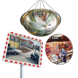 products for safety, control and security: Mirrors
