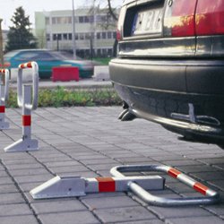 warning sign posts